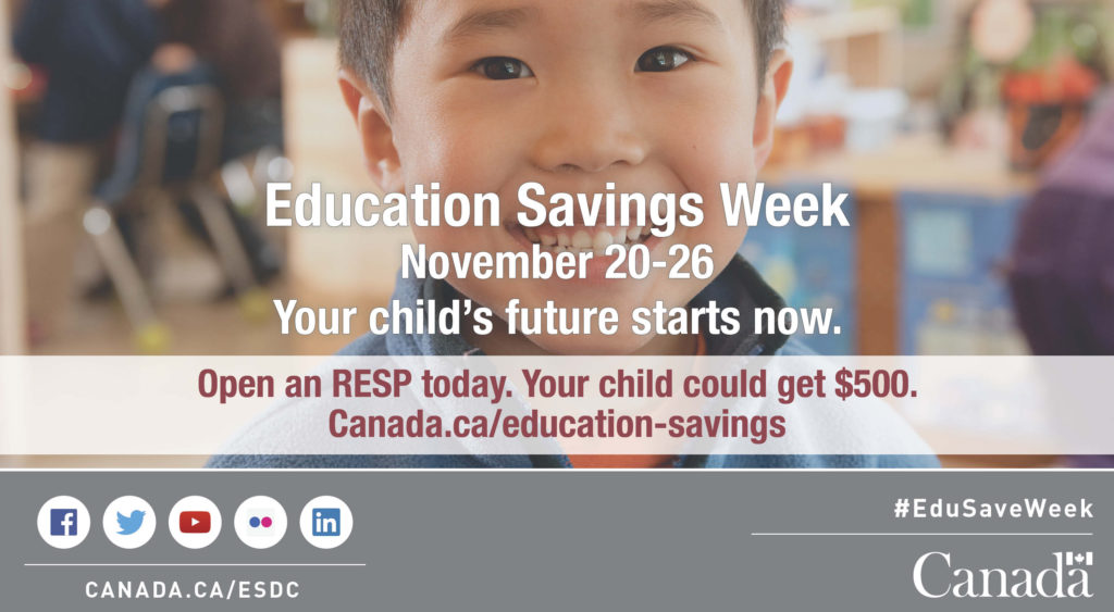 Education Savings Week graphic