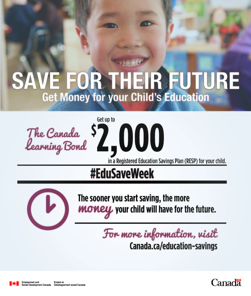 Education Savings Week poster